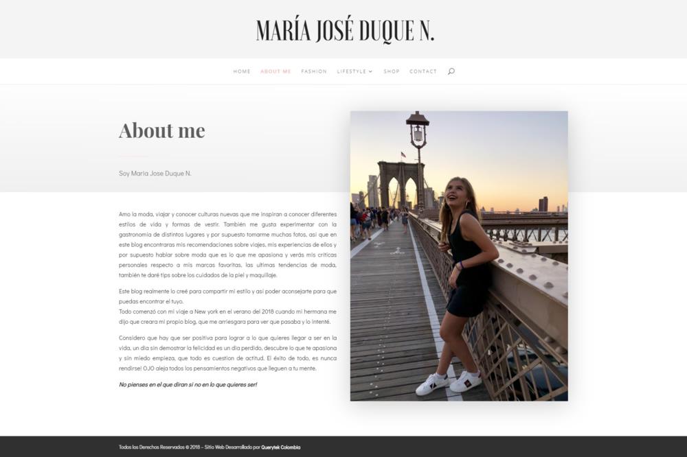 Maria Jose Duque