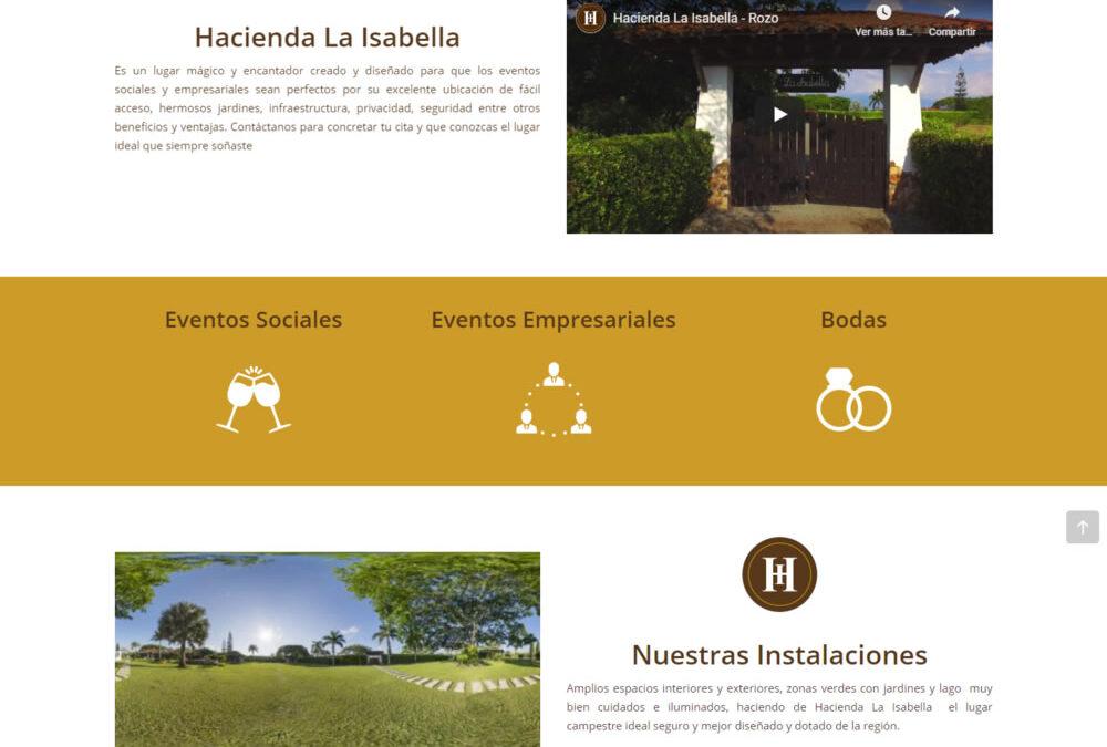 Hacienda La Isabella 2020